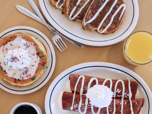 IHOP Debuts New Cupcake Pancakes Brand Eating