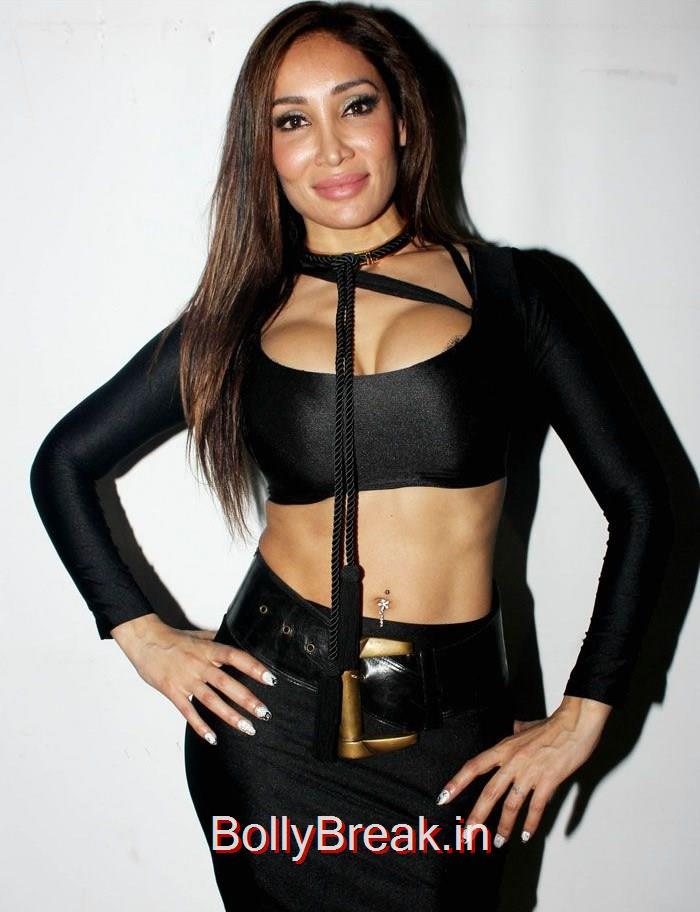 Sofia Hayat, Sofia Hayat hot Pics from her album Launch in black Dress