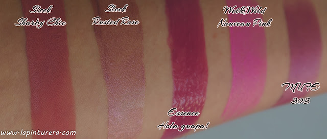 swatches labiales