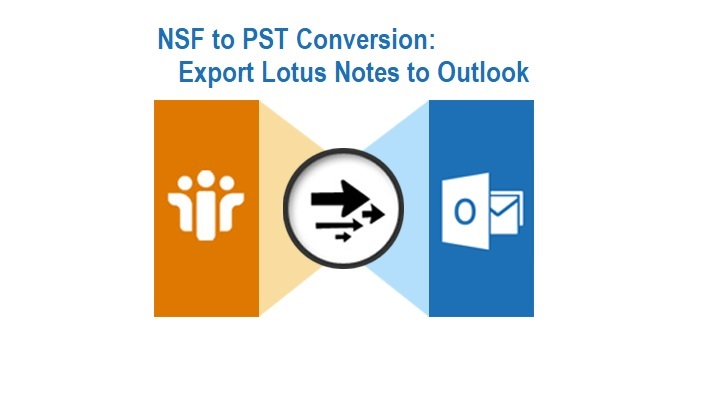 NSF to PST Conversion - Export Lotus Notes to Outlook