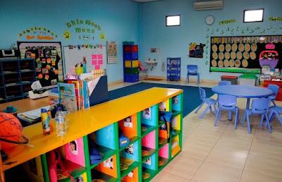 dekorasi ruang kelas tk terbaru