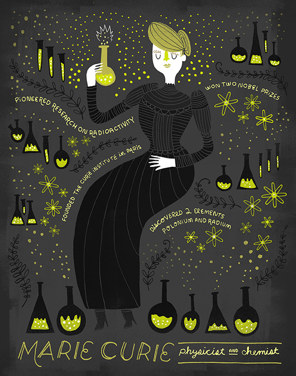 http://ecoworldreactor.blogspot.com/2017/11/marie-curie-by-rachel-ignotofsky.html