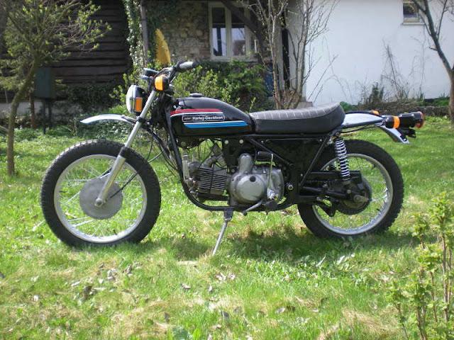 [Photos] Harley Davidson SX-350 1973