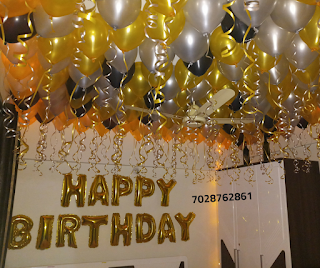 Birthday Room Decoration Ideas Simple