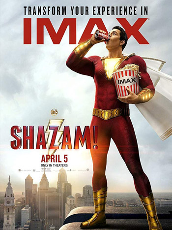 Shazam! 2019 Dual Audio Hindi HDCam 480p 300MB