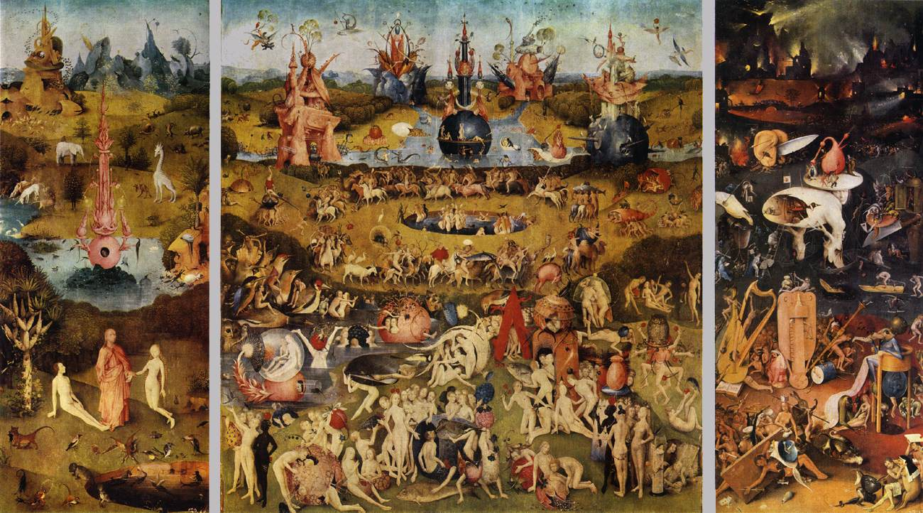 Any given day october 2011 - Hieronymus bosch garden of earthly delights ...