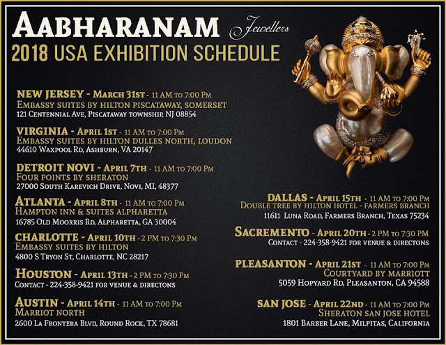 aabharanam USA exhibition 2018