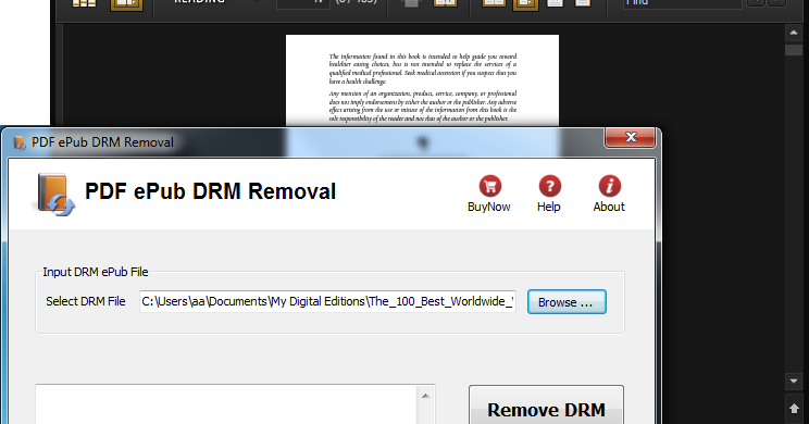 DRM TÉLÉCHARGER REMOVAL EPUBEE