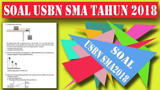 Kumpulan SOAL USBN SMA Tahun 2017/2018