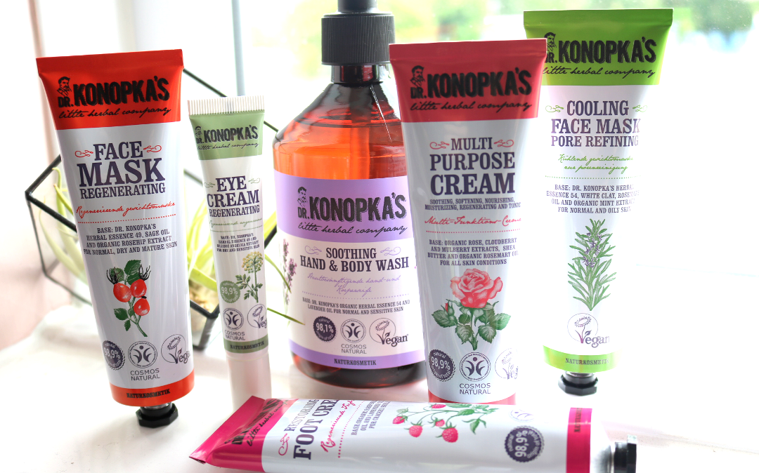 Introducing: Dr. Konopka's Natural Herbal Skincare - Cooling & Regenerating Face Masks, Soothing Hand & Body Wash, Regenerating Eye Cream, Multi Purpose & Restoring Foot Cream review