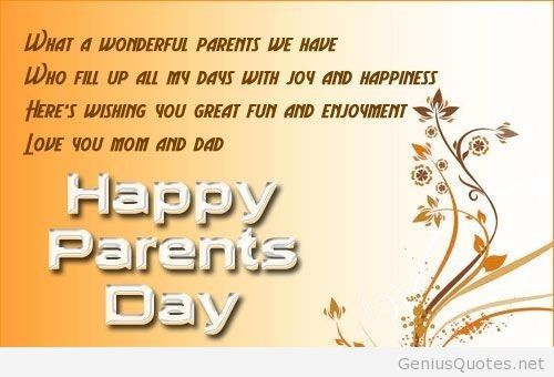 20+ Best Happy Parents Day Greeting Message Wishes And Cards