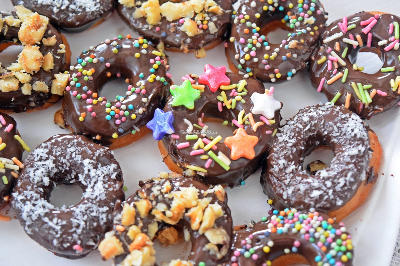 Eggless Donuts Recipe (Soft & Spongy) - 10