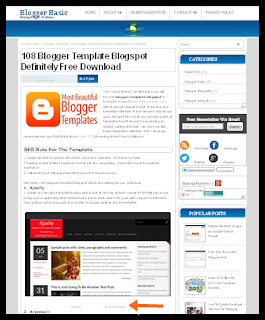 free blog templates for blogger blogspot 3 template-install