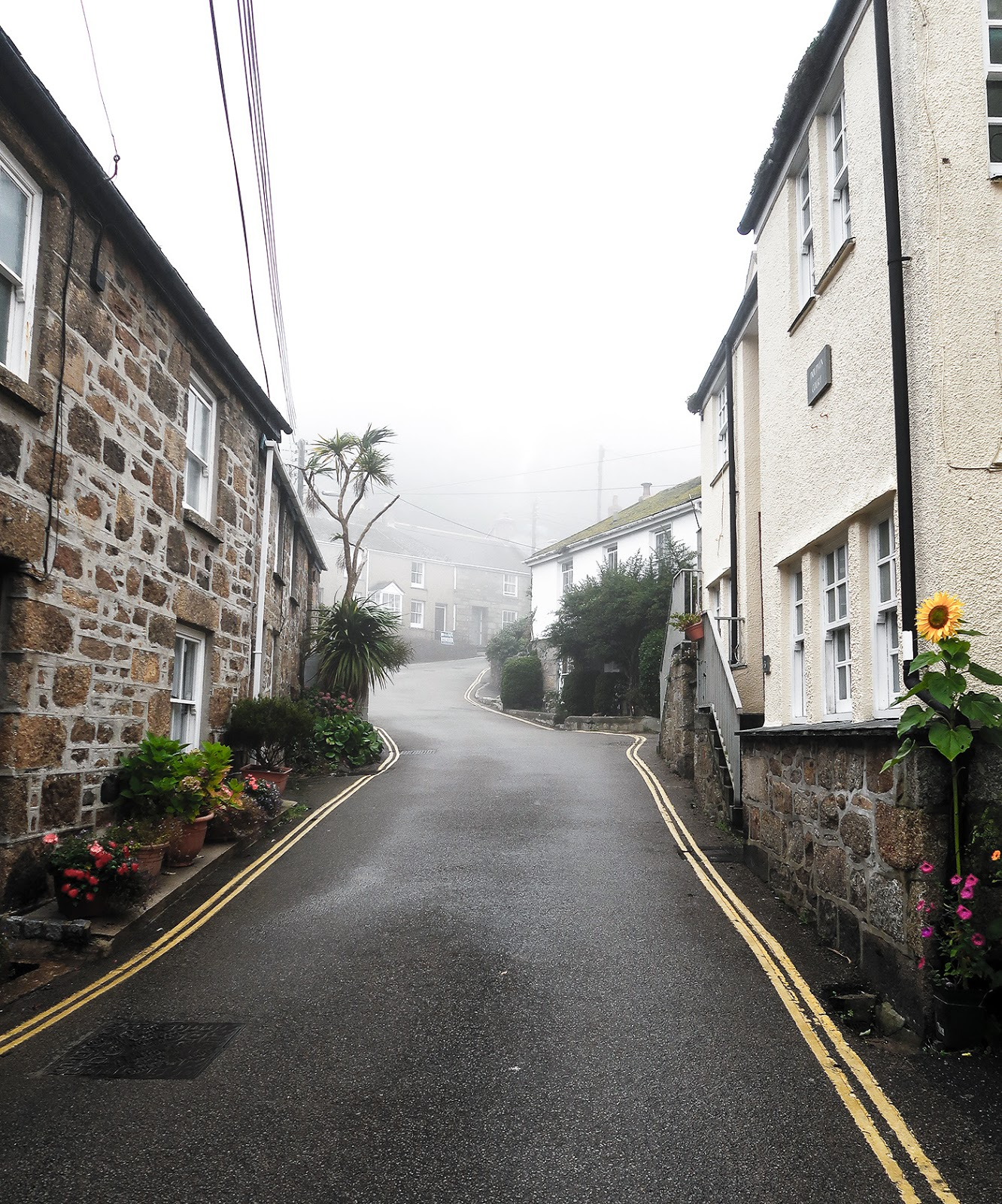 Mousehole in the Fog