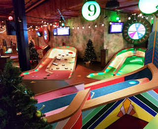Puttshack indoor minigolf at Westfield London