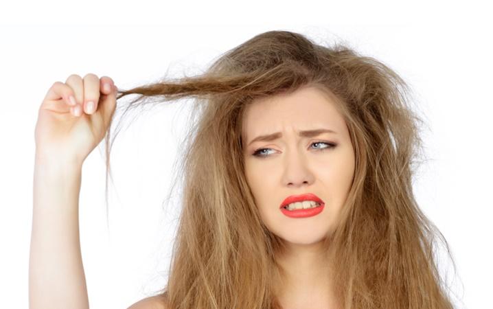 atasi masalah rambut kering