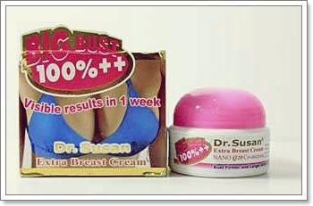 Cream Dr. Susan pembantu proses pengencangan payudara