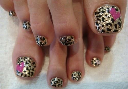 Lindisima Blog Uñas Decoradas Con Piel De Leopardo