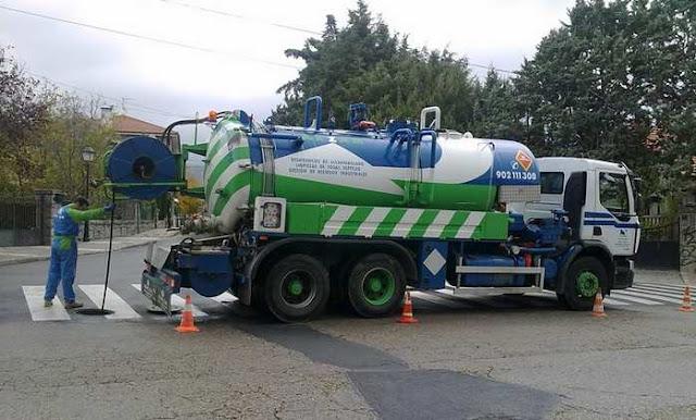 limpieza depósitos agua potable madrid