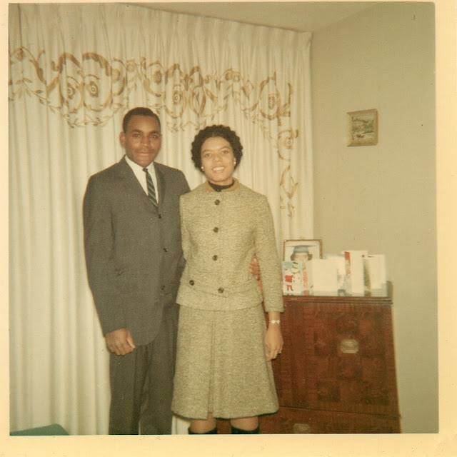 Wordless Wednesday: A Handsome Young Couple -- My Parents --How Did I Get Here? My Amazing Genealogy Journey