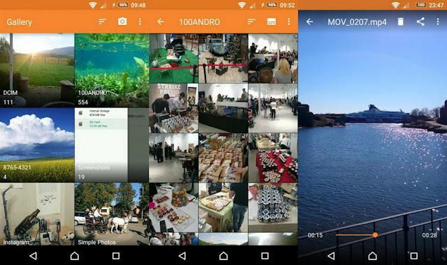 Simple Gallery - Screenshot
