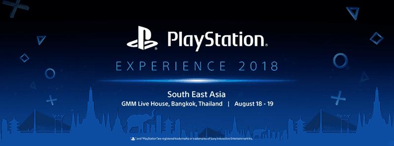 PlayStation Experience 2018 SEA at Bangkok, Thailand