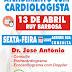 Atendimento com cardiologista dia 13 de Abril na Clilab em Ruy Barbosa