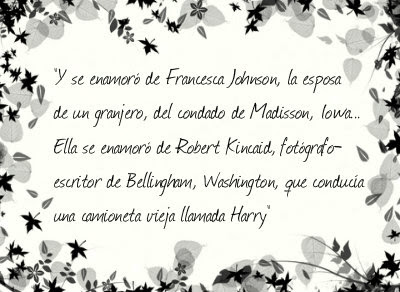 Los Puentes de Madison - Robert James Waller