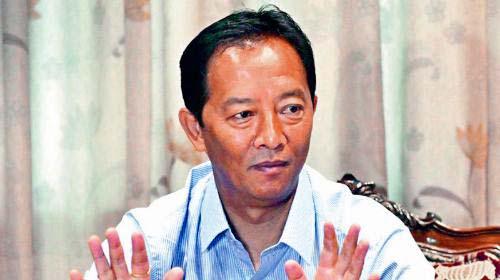 GJM president Binay Tamang