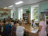 обговорення пенсійної реформи читачами бібліотеки ім. М. Костомарова