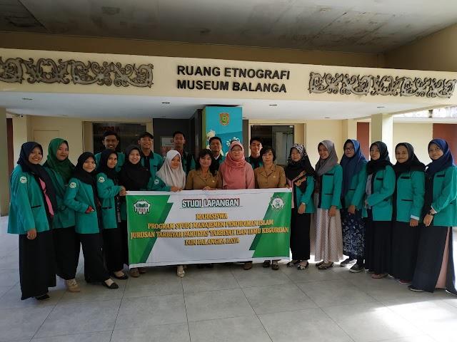 Kunjungan Mahasiswa Prodi MPI ke Museum Balanga Kota Palangka Raya