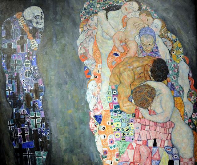 死と生 1916年 クリムト、官能と黄金の画家とは?クリムトの見ておきたい絵画14選【
