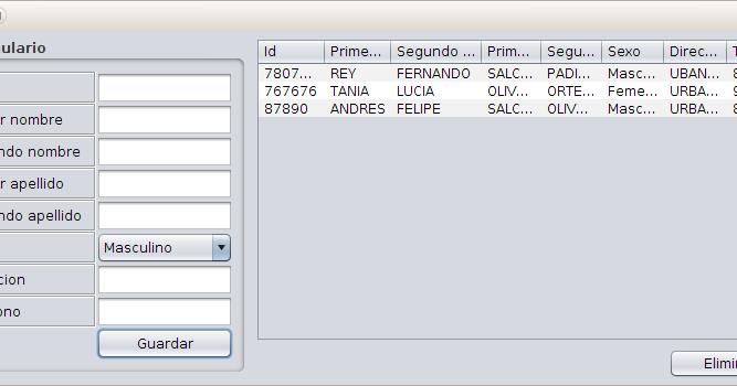 Y No Pointers In Java Usando java: Llenar y ...