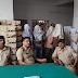 सकरी में पार्सल वैन  से 33 सौ लीटर शराब बरामद , चार तस्कर गिरफ्तार