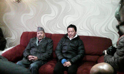 R Moktan joins Bimal gurung Party GJM