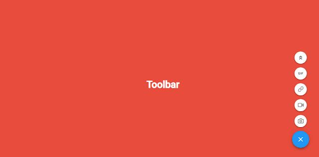 Tạo thanh công cụ có button đóng mở cho blogspot