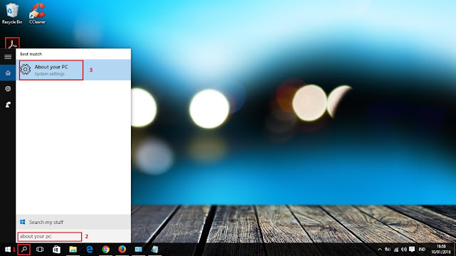 Cek spesifikasi laptop windows 10