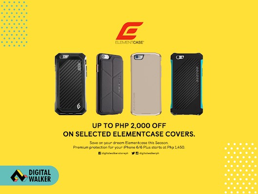 Digital Walker takes up to P2,000 off on selected Element Case products this holiday season. - Mix of Everything