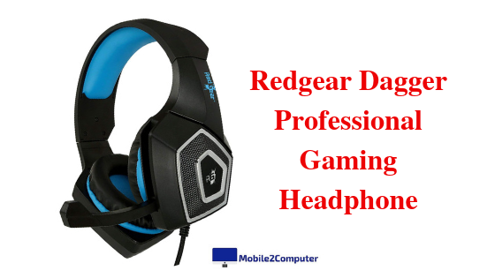 Redgear Dagger Budget Gaming headphone with mic under 1000 rupees