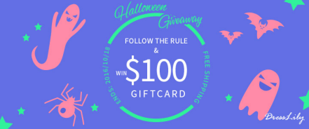 Halloween Giveaway with Dresslily !