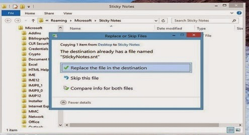 Cara Backup Dan Restore Sticky Note Di Windows 8 Pada Komputer