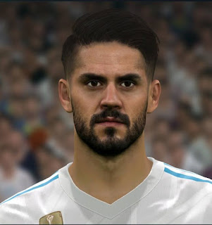 PES 2017 Faces Isco Alarcon by Sameh Momen