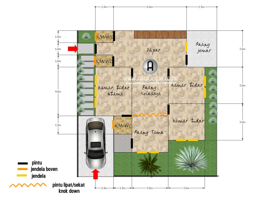 60 Desain Rumah Minimalis Ukuran 8x9 Desain Rumah