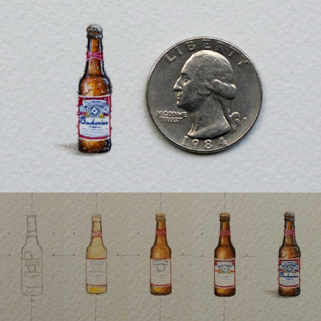 04-Budweiser-WIP-Rachel-Beltz-Creative-Miniature-Paintings-www-designstack-co