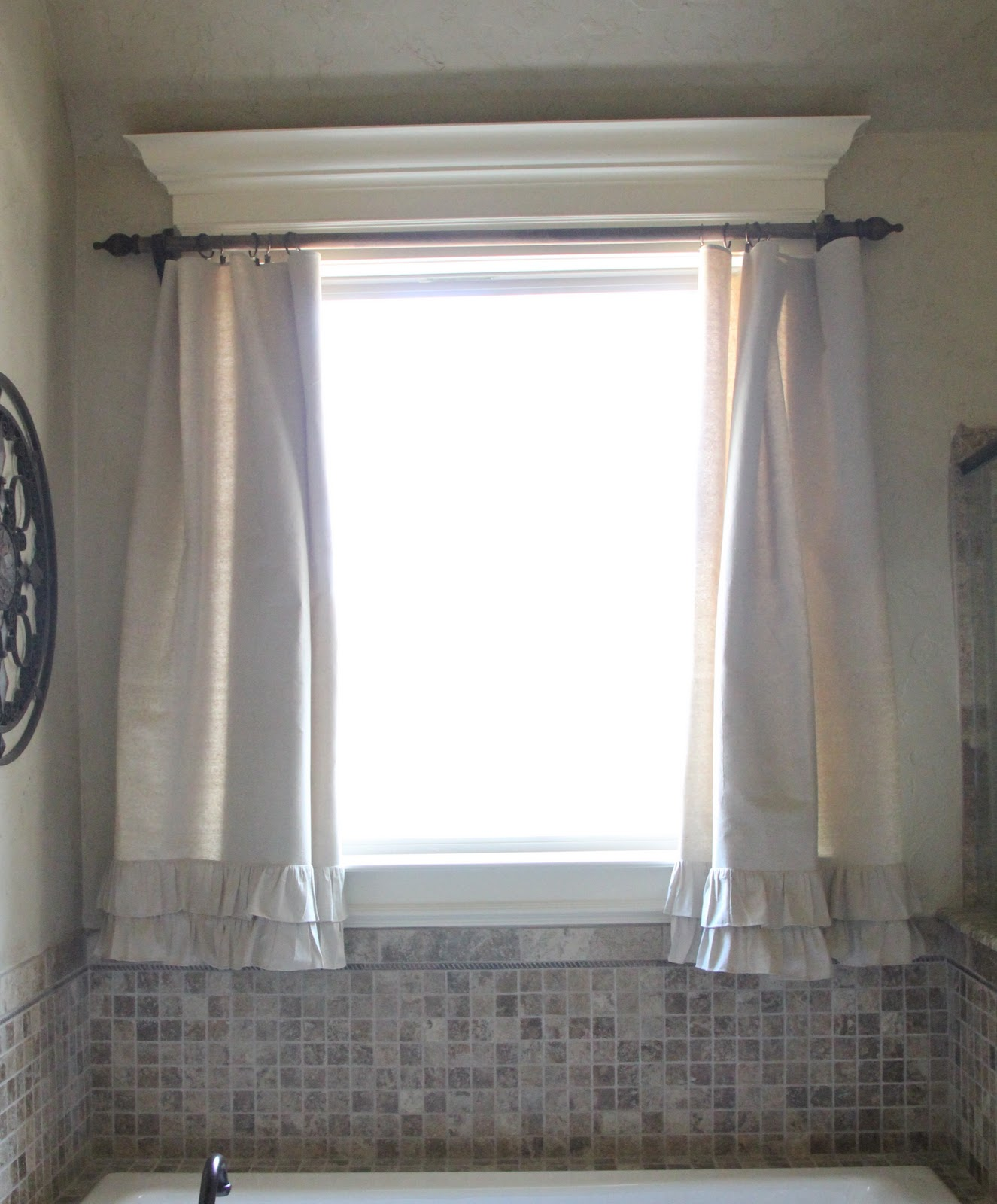 Diy Ruffle Drop Cloth Curtains Shanty 2 Chic
