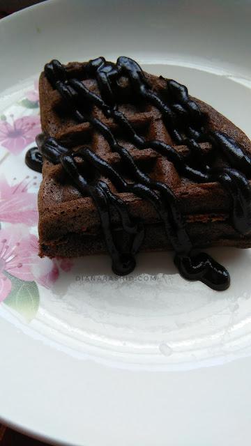 resepi waffle paling sedap dan gebu