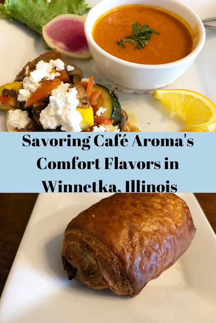 Savoring Café Aroma's Comfort Flavors While in Chicago's North Shore