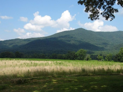 Cades Cove Valley, Great Smoky Mountains in Tennessee ― image by GRSM Inventory & Monitoring (National Forest Service) on Flickr