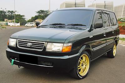 Toyota Kijang Kapsul LGX Modifikasi