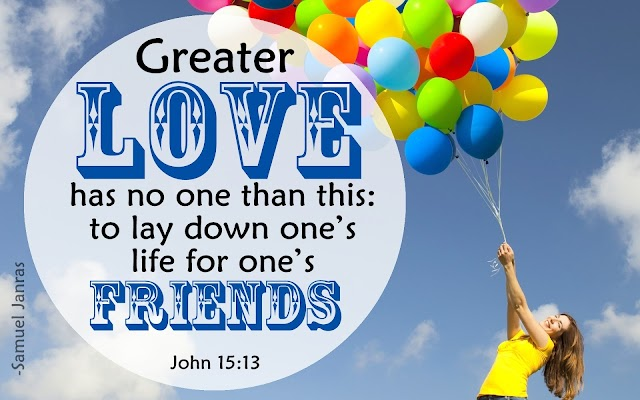 Friendship Day Bible Verse Greetings by Brother Samuel Janras